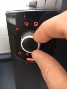 Einfache Bedienung mittels Rotary Switch